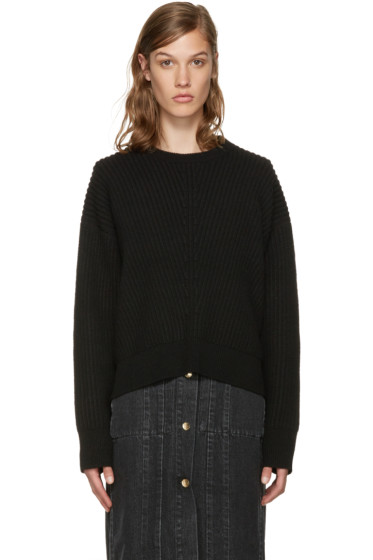 Acne Studios - Black Wool Java Sweater