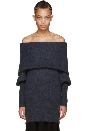 Acne Studios - Blue Mohair Daze Sweater