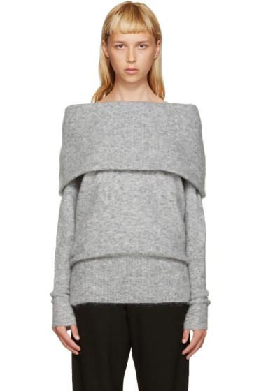 Acne Studios - Grey Mohair Daze Sweater