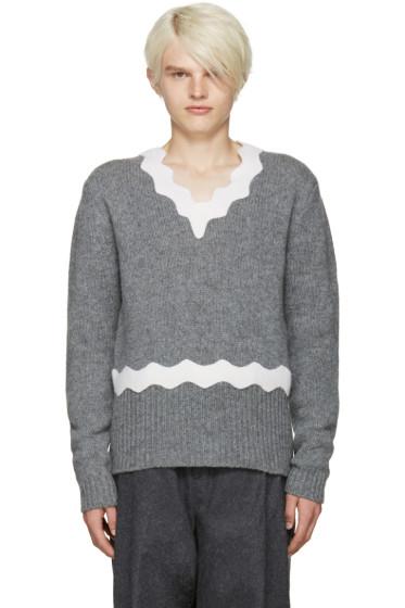 Acne Studios - Grey Wool Kapila Sweater