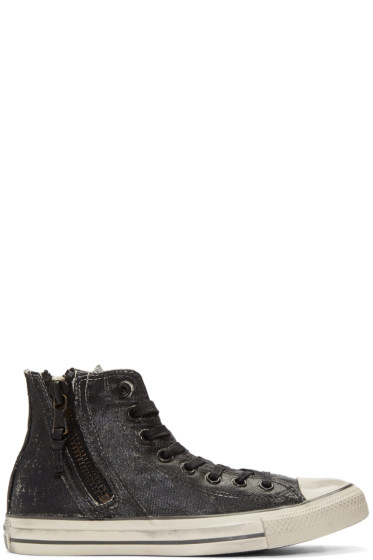 Converse by John Varvatos - Black Chuck Taylor All Star Zip High-Top Sneakers