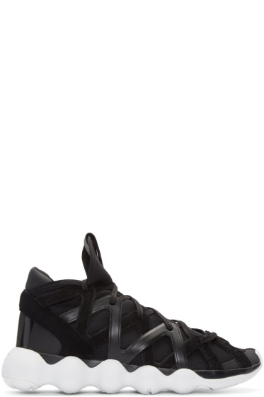 Y-3 - Black Kyujo High-Top Sneakers
