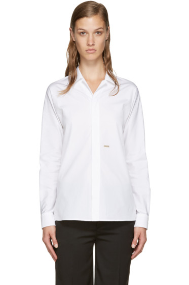 Dsquared2 - White Poplin Pyjama Shirt