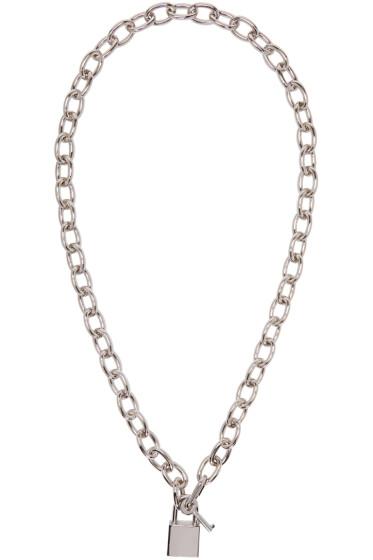 Dsquared2 - Silver Lock Chain Necklace
