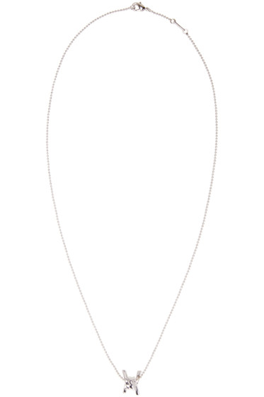 Dsquared2 - Silver Barbed Wire Necklace