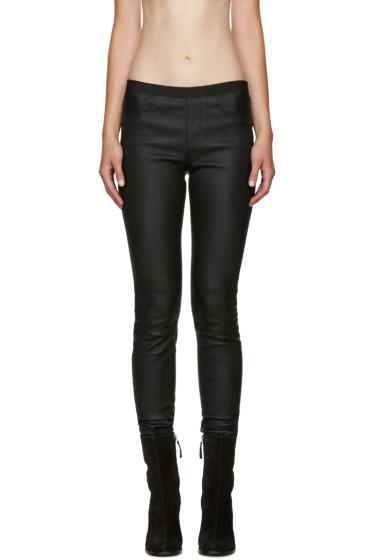 Helmut Lang - Black Skinny Leather Pants