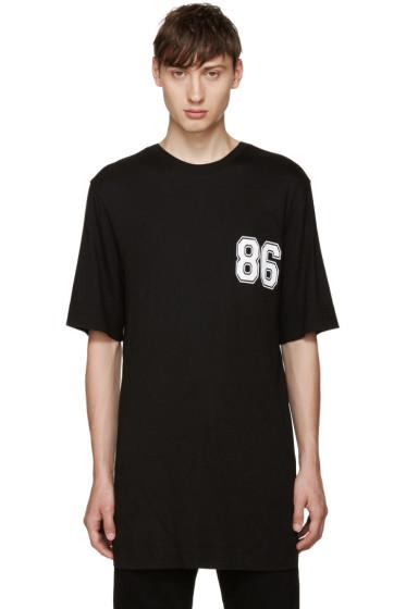 Helmut Lang - Black Varsity Logo T-Shirt
