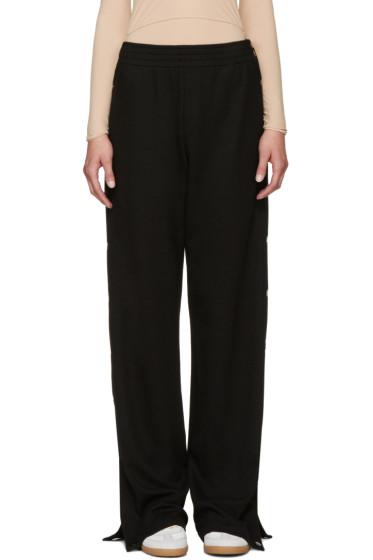 Maison Margiela - Black Button Trousers