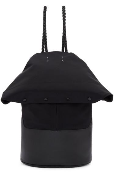 Maison Margiela - Black Foldover Backpack