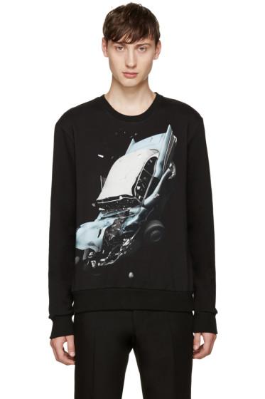 Christopher Kane - Black Car Crash Pullover