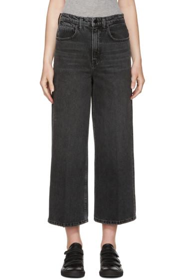 Alexander Wang - Grey Drill Jeans