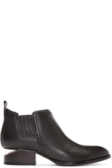 Alexander Wang - Black Kori Ankle Boots