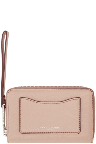 Marc Jacobs - Pink Leather Recruit Wallet
