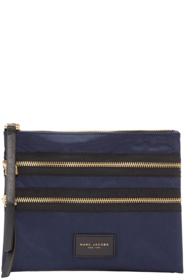Marc Jacobs - Navy Biker Smart Pouch