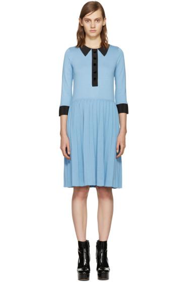 Marc Jacobs - Blue Trompe L'Oeil Dress