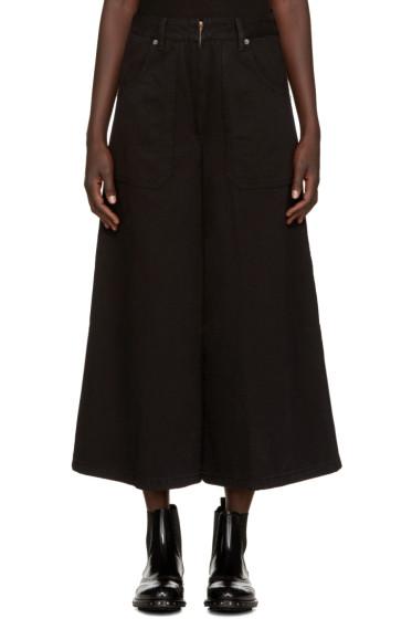 Marc Jacobs - Black Denim Culottes