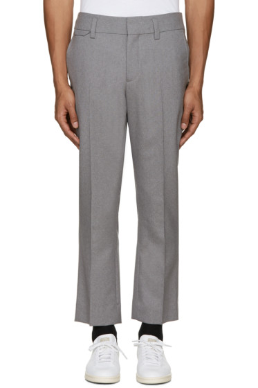 Marc Jacobs - Grey Sutton Suiting Trousers