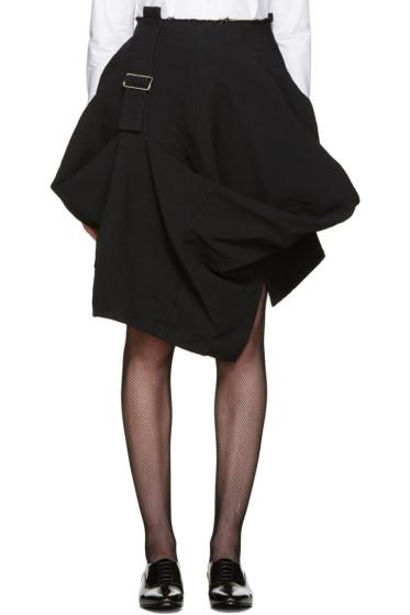 Comme des Garçons - Black Belted Skirt