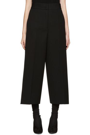 Jil Sander - Black Wool Baldo Trousers