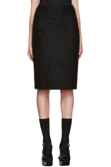 Jil Sander - Black Mohair Skirt