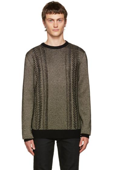 Balmain - Gold Crewneck Sweater