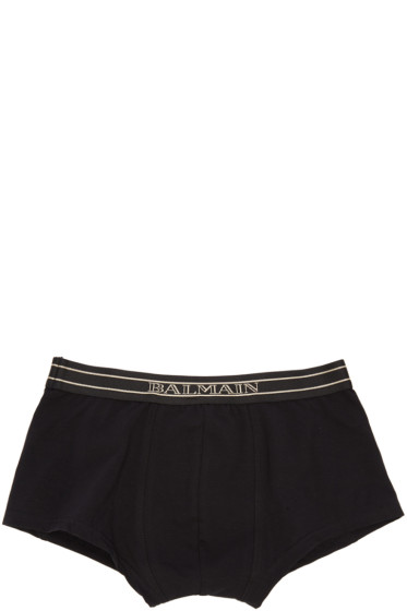 Balmain - Three-Pack Tricolor Boxer Briefs