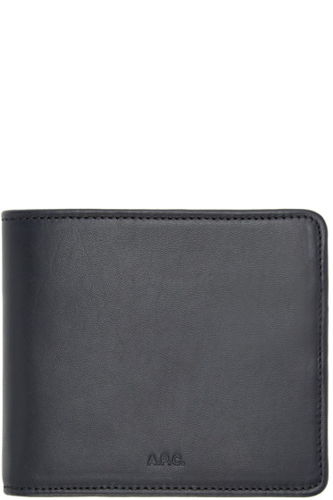 A.P.C. - Navy London Wallet