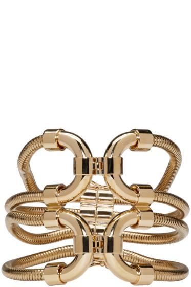 Lanvin - Gold Snake Chain Bracelet