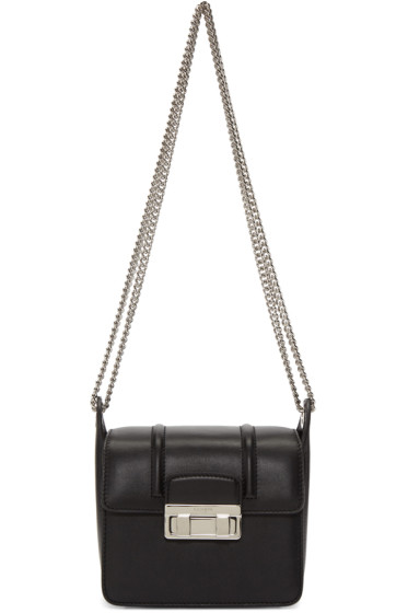 Lanvin - Black Mini Jiji Chain Bag