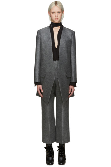 Lanvin - Grey Fitted Coat