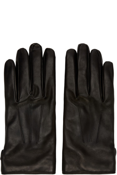 Lanvin - Black Lambskin Gloves