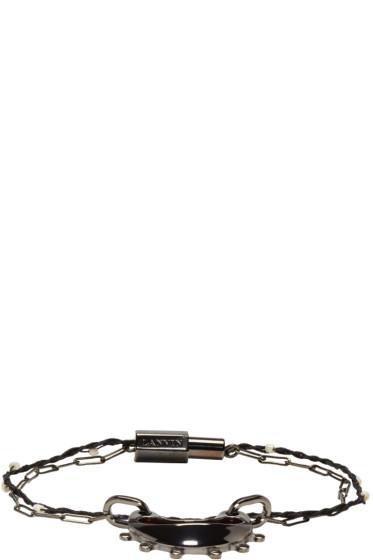 Lanvin - Gunmetal Double Bracelet