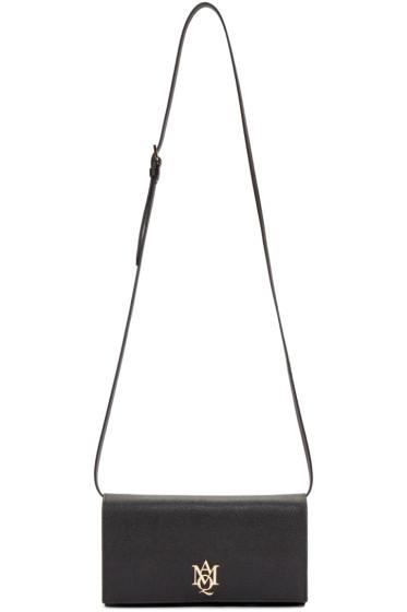 Alexander McQueen - Black Insignia Shoulder Bag