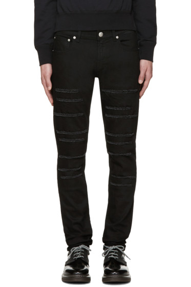 Alexander McQueen - Black Night Rider Jeans