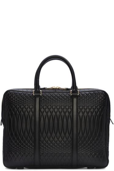Paul Smith - Black Embossed No.9 Briefcase