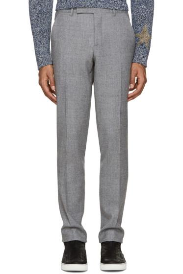 Paul Smith - Grey Wool Slim Trousers