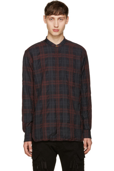 Paul Smith - Burgundy Check Shirt