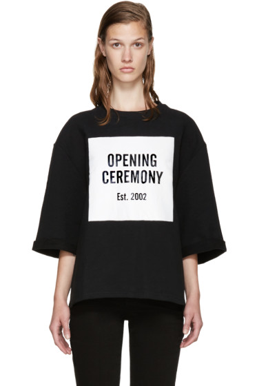 Opening Ceremony - Black Logo Sweatshirt