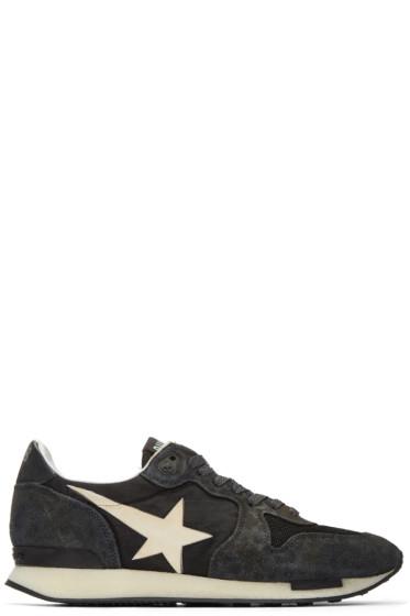Golden Goose - Black Runner Sneakers