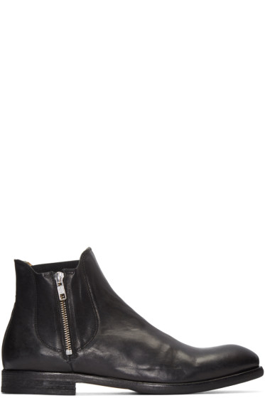 H by Hudson - Black Mitchell Boots
