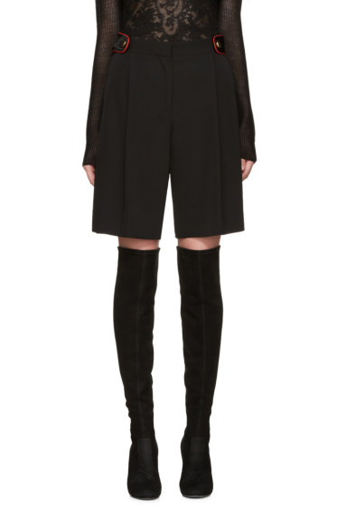 Givenchy - Black Wool Shorts