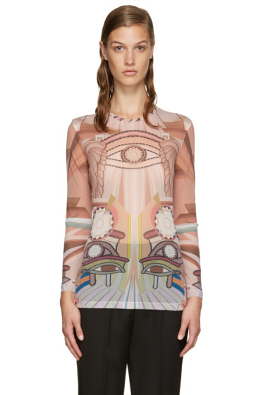 Givenchy - Multicolor Stargate Printed Top