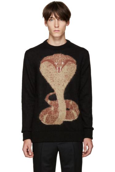 Givenchy - Black Cobra Sweater