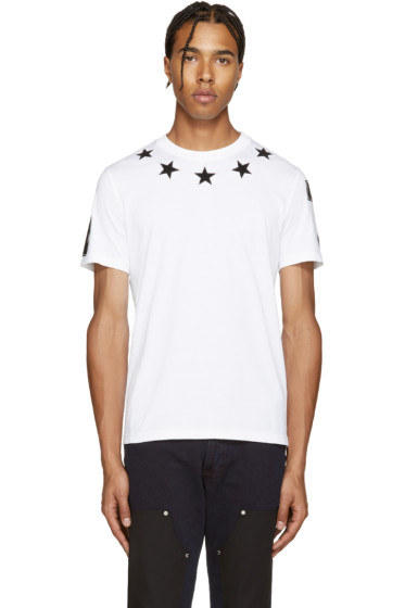 Givenchy - White Stars T-Shirt