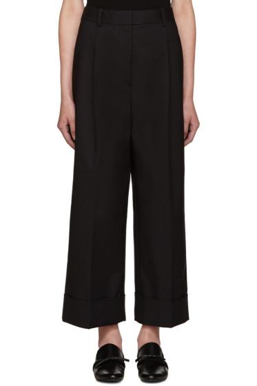 3.1 Phillip Lim - Black Wide-Leg Trousers