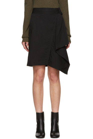 3.1 Phillip Lim - Black Asymmetric Skirt