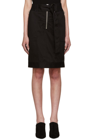 3.1 Phillip Lim - Black Belted Utility Skirt