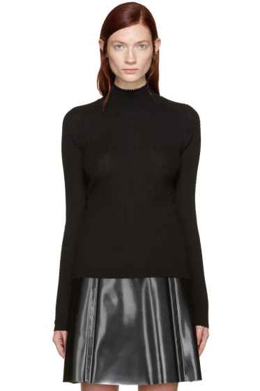 Carven - Black Knit Turtleneck
