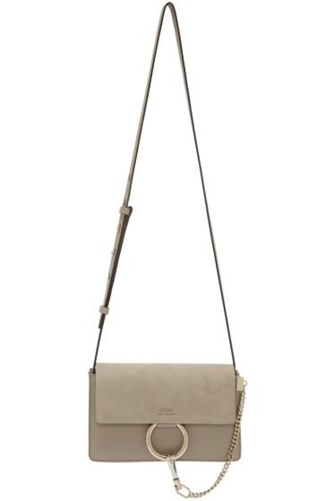 Chloé - Grey Small Faye Bag
