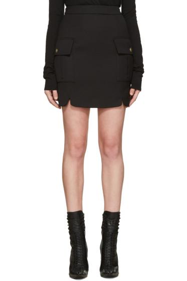 Pierre Balmain - Black Pockets Skirt